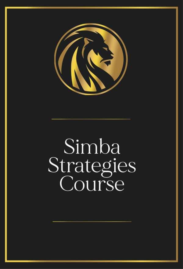 Simba Strategies Course Certification